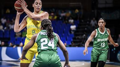 Australian basketball star Liz Cambage sends a message of support to D'Tigress after a physical altercation with the team