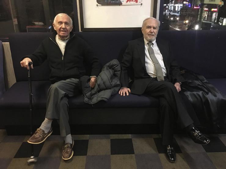 Braća Fejngold, preživeli holokaust, korona virus