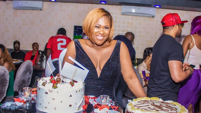 Uche Jombo recently turned forty and to mark the special day, she celebrated in grand style with her friends. [Instagram/UcheJombo]