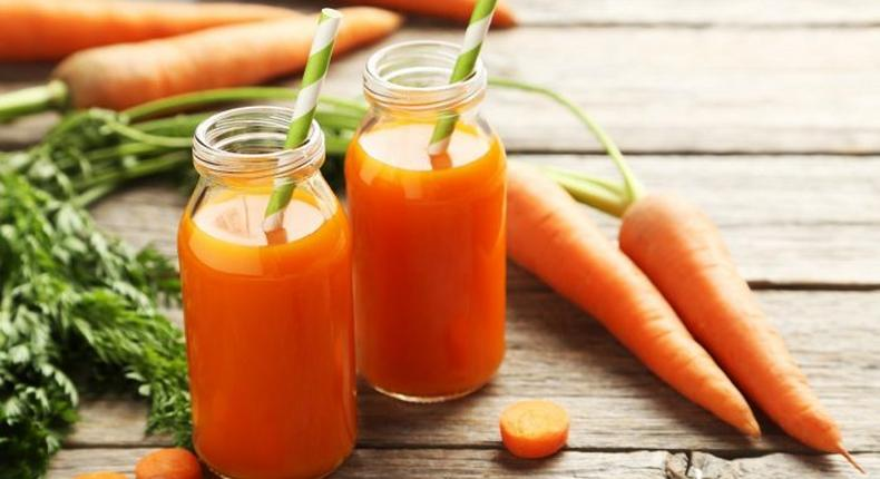 Carrot juice(Organic Facts)