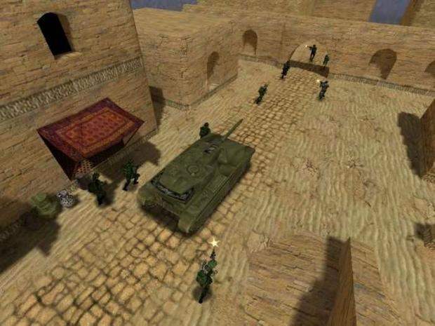 Team Fortress 2 - screen wczesnej wersji gry, który stał się inspiracją dla Dave'a Johnstona