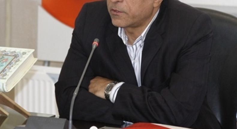 The Iranian ambassador Hadi Farajvand