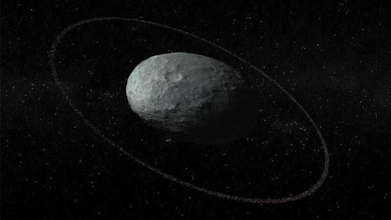 Naukowcy badają karłowatą planetę Haumea