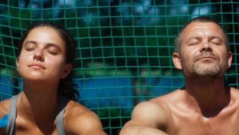 "Kadr z filmu ""Córka trenera"""