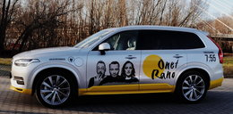 Tym autem pojadą goście Onet Rano. Volvo partnerem programu
