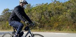 Prezydent Joe Biden pokazał Bike Force One. Ktoś go powinien naoliwić