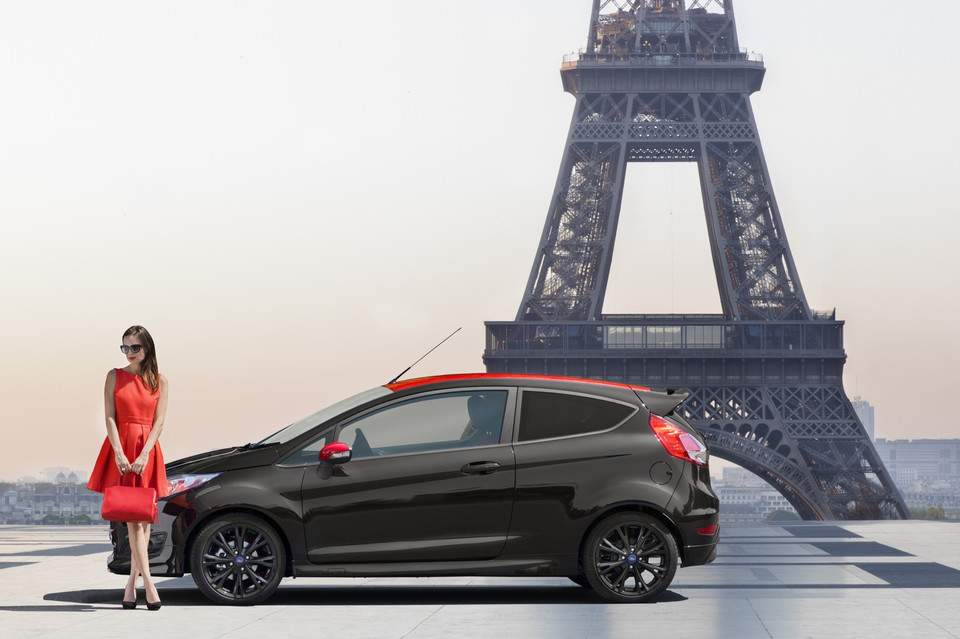 Ford Fiesta Black Edition Red Edition