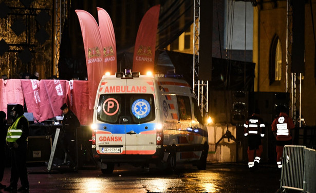 Atak na prezydenta Adamowicza w Gdańsku
