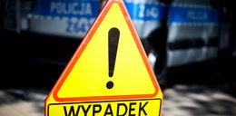 Karambol na opolskim odcinku autostrady A4. Dwie osoby przetransportowano śmigłowcem do szpitala