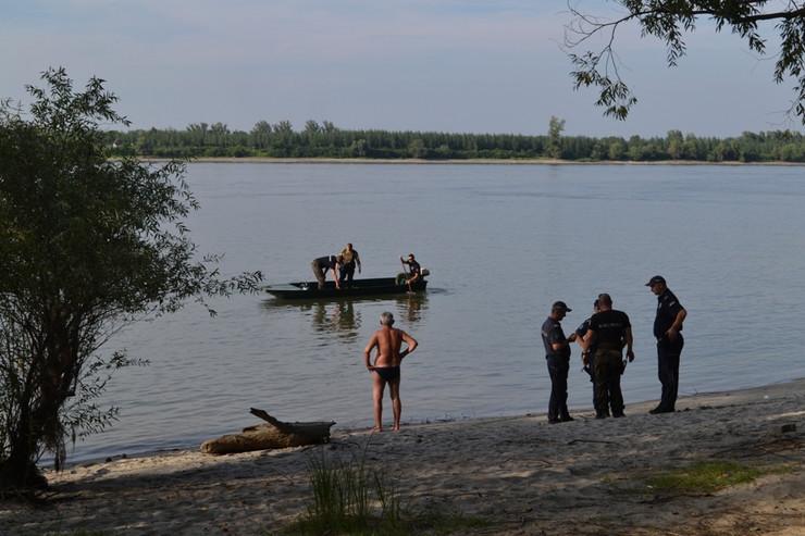 Utapanje Dunav Novi Sad Estraf Dalipi RAS