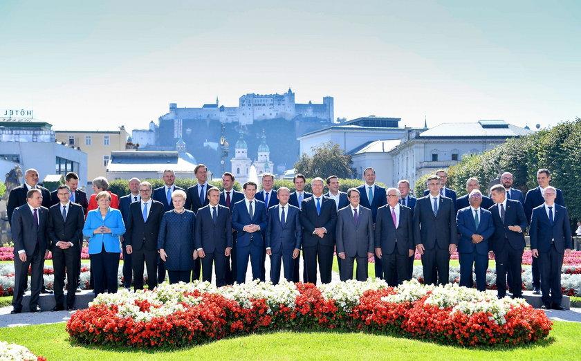 Szczyt w Salzburgu