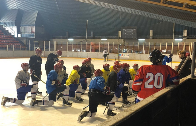 Poslednje pripreme naših mladih hokejaša za Svetsko prvenstvo