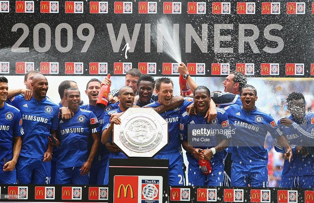 The Community Shield was one of the titles Mikel Obi won with Chelsea (Getty Images)