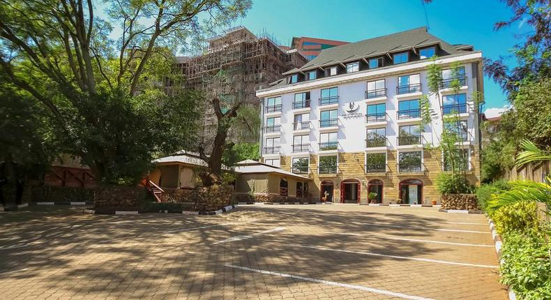 The Nairobi UpperHill Hotel. (booking.com)