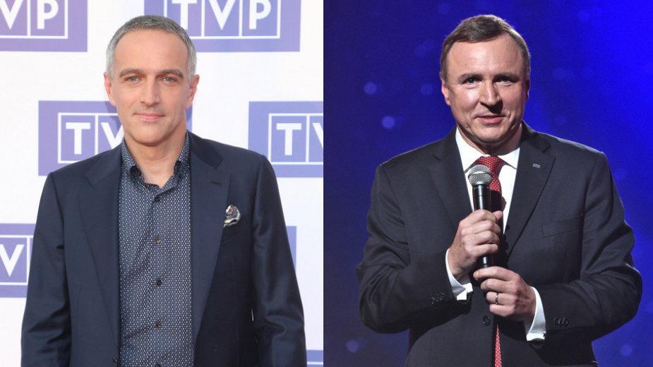 Paweł Orleański (MW Media, fot. Paweł Wrzecion) i Jacek Kurski
