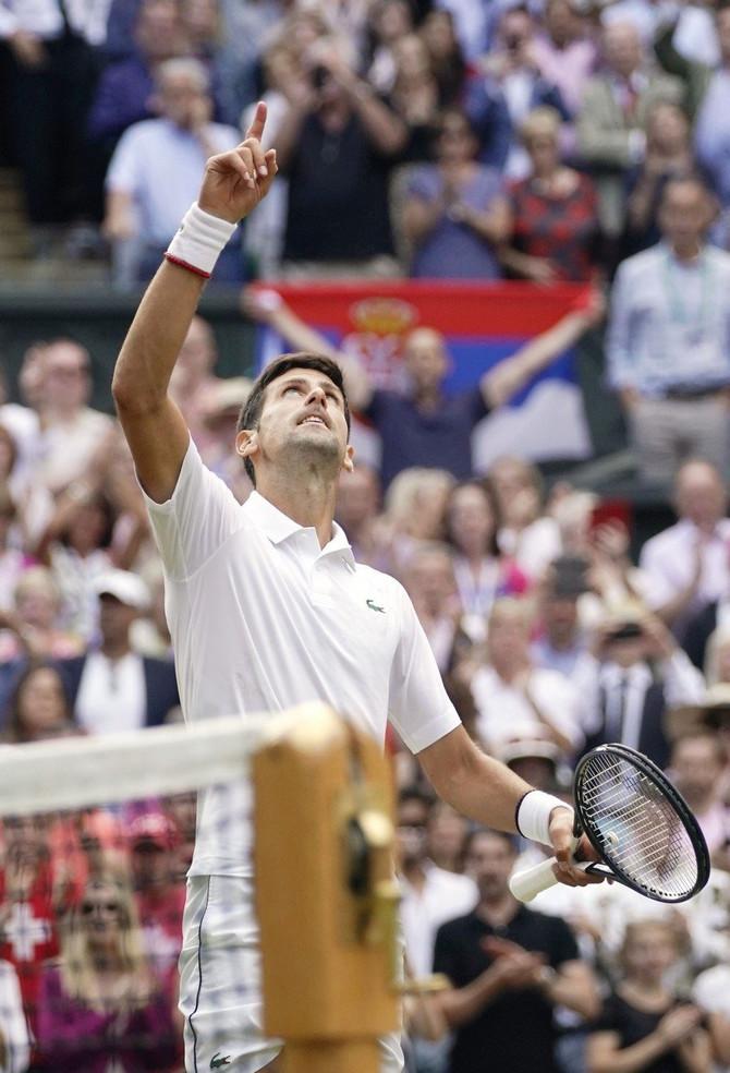 Novak Đoković finale Vimbldona