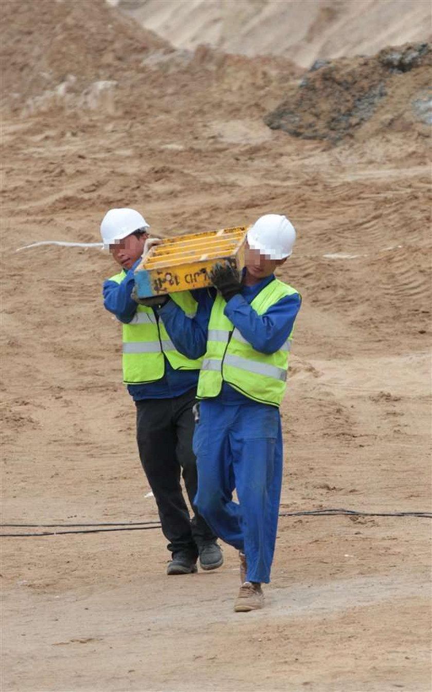 Chińczycy pracują, Polacy leniuchują. FOTO
