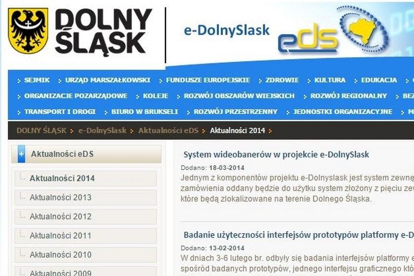 Portal dolnośląskiego urzędu marszałkowskiego