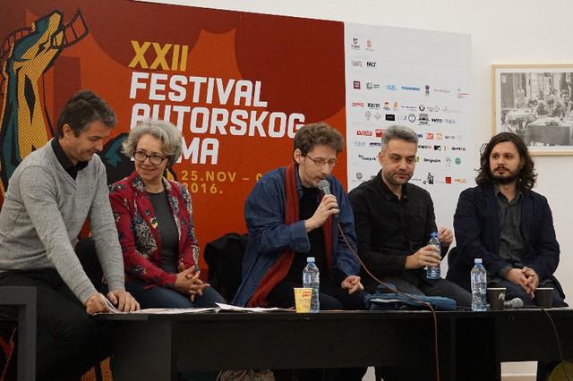 Igor Stanković, An-Loren Viguru, Srđan Vučinić, Srdan Golubović i Stefan Arsenijević