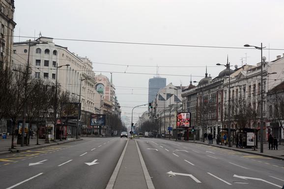 Terazije bez automobila od 9.00 do 16.00
