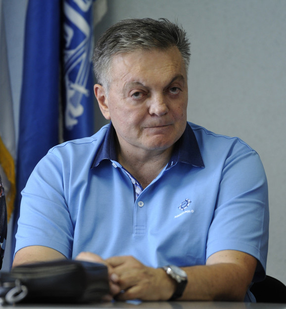 Ponosan na sankcije: Milovan Bojić, poslanik SRS