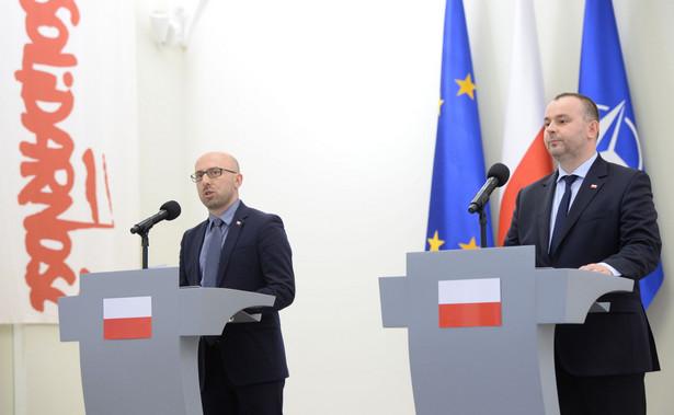 Krzysztof Łapiński i Paweł Mucha