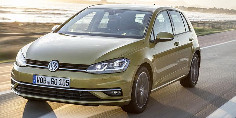 Volkswagen Golf po liftingu - odmłodzony i unowocześniony