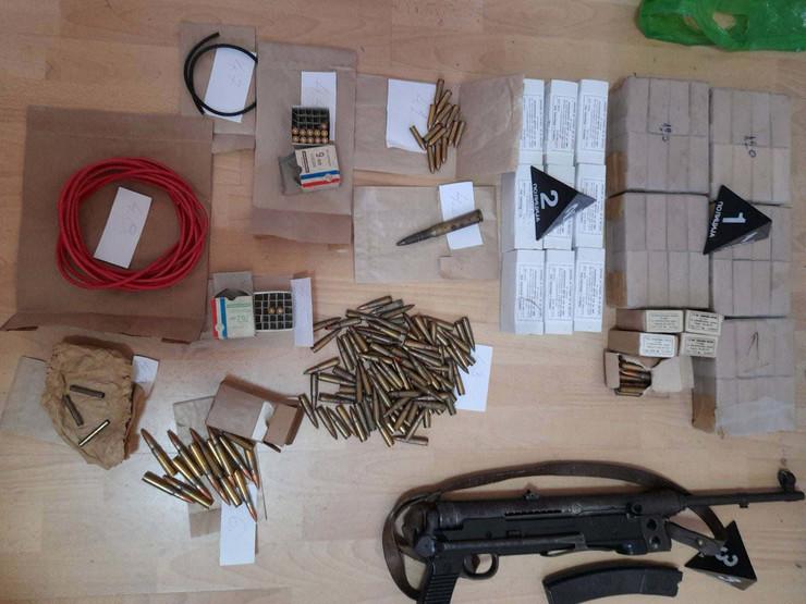 Puška i municija zaplenjeni u kući Novovarošanina
