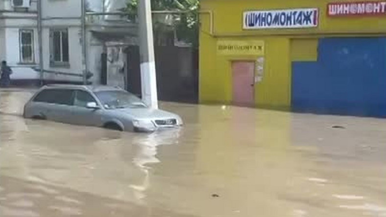 Odessa pod wodą