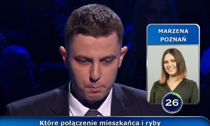 """""""Milionerzy"""": Leszkowi pomogła Marzena, która wcześniej wygrała ćwierć miliona!"""