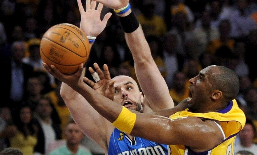 Kobe Bryant i Marcin Gortat