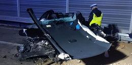 Tragedia na S8. Zginął kierowca