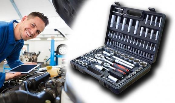 Kofer sa 108 delova alata