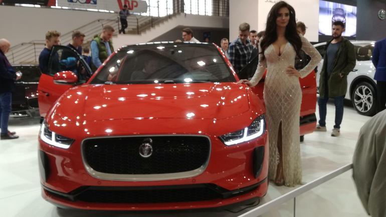 Elektryczny Jaguar I-Pace