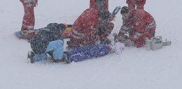 Dramat przed lotami narciarskimi. Skoczek złamał kręgosłup?
