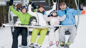 W święta narciarskie ostatki w Beskidach