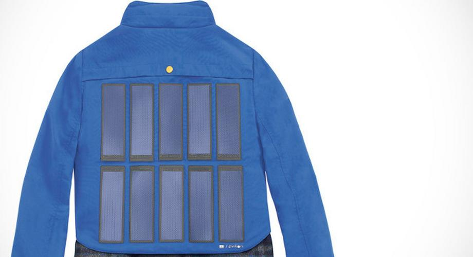 Tommy Hilfiger: Notstrom-Jacken mit Solarzellen