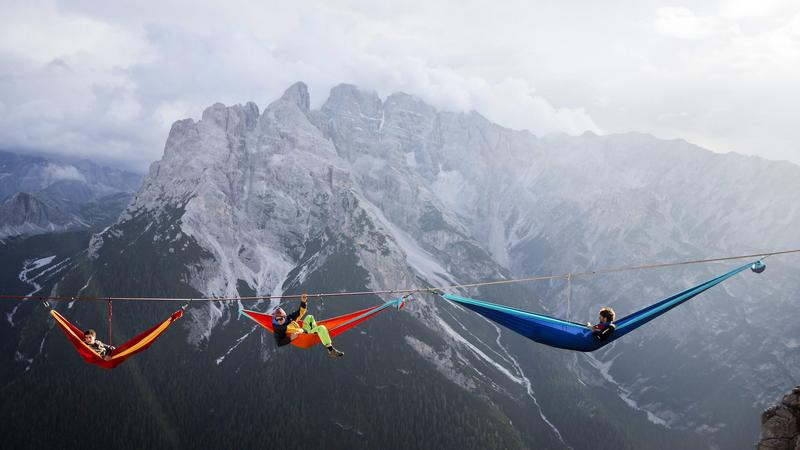 ITALY HIGHLINING (International Highline Meeting in Monte Piana)