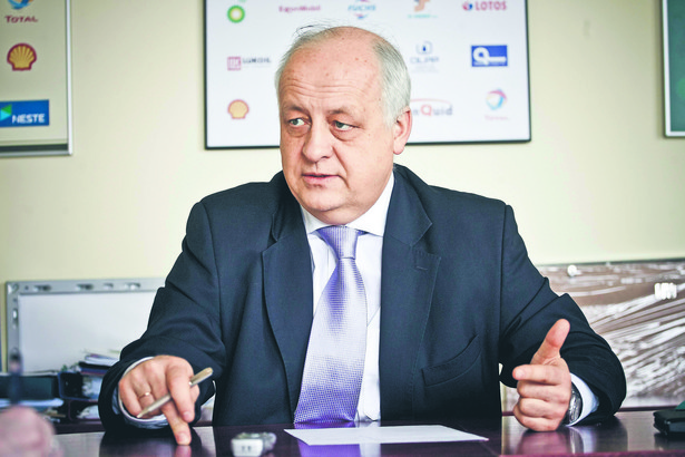 Leszek Wieciech, dyrektor generalny Polskiej Organizacji Przemysłu i Handlu Naftowego. Fot. Wojtek Górski