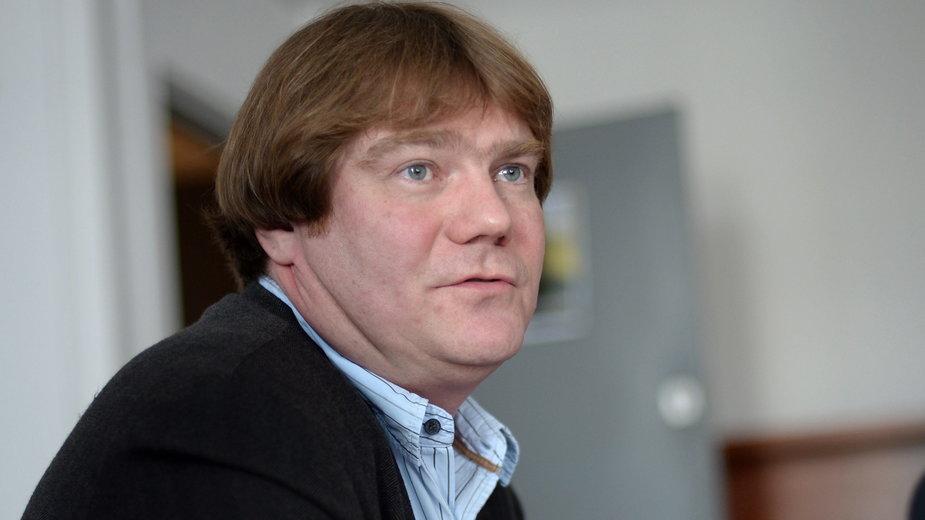 dr Piotr Kładoczny z Helsińskiej Fundacji Praw Człowieka