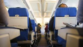 Pasażerka znalazła nóż na pokładzie samolotu