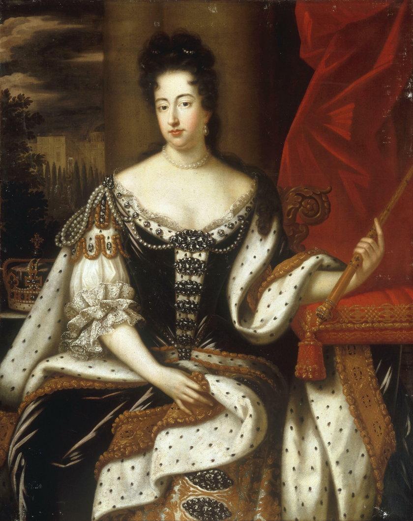 Królowa Maria II Stuart
