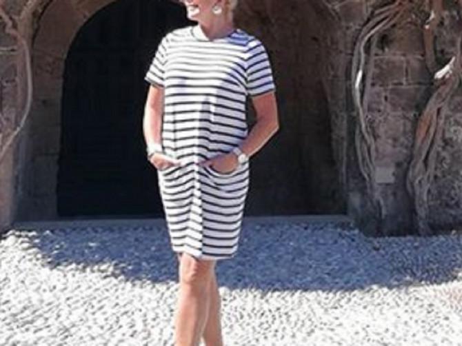Čuvena jugoslovenska lepotica i skandal majstor: Haljinu koju vidite na ženi grčkog bankara možete kupiti za 3.000 dinara- NIJE ŠALA