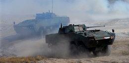 Załoga czołgu ranna na poligonie w Nowej Dębie