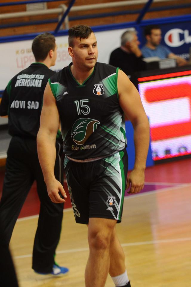 Miladin Kovačević u dresu Meridijane