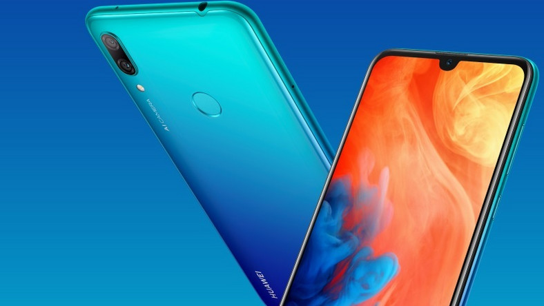 A closer look at the HUAWEI Y7 Prime 2019: Stunning design