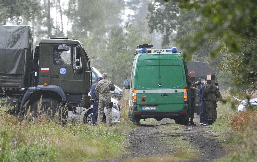 Dwaj żołnierze zginęli w lasach Kuźni Raciborskiej