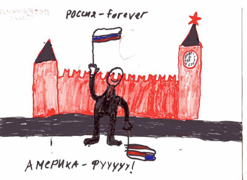 Tak dzieci widzą rosyjskiego prezydenta