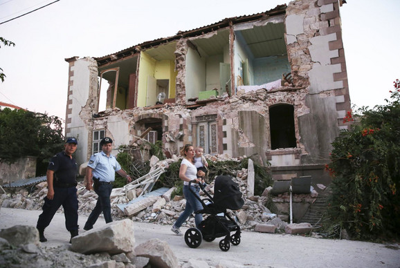 Zemljotres na Lezbosu