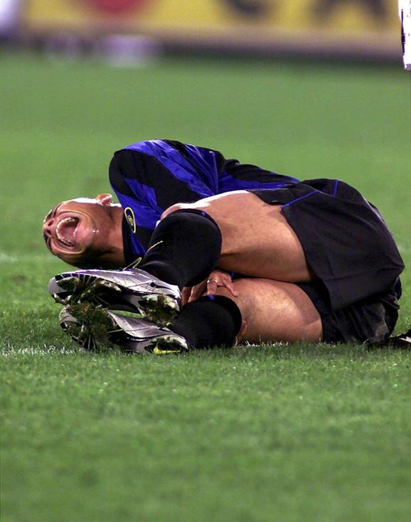 Igrači su se uhvatili za glavu čim je Ronaldo pao na travu
